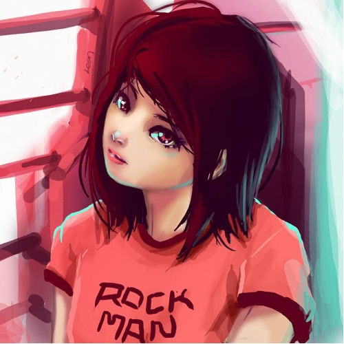 Rockman girl